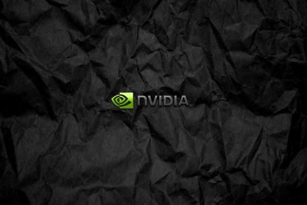nvidia en fondo negro