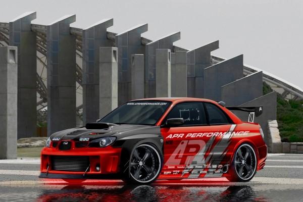 Impreza WRX STI APR R34 GTR