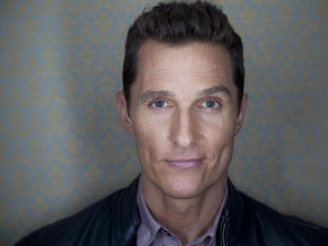 El actor Matthew McConaughey