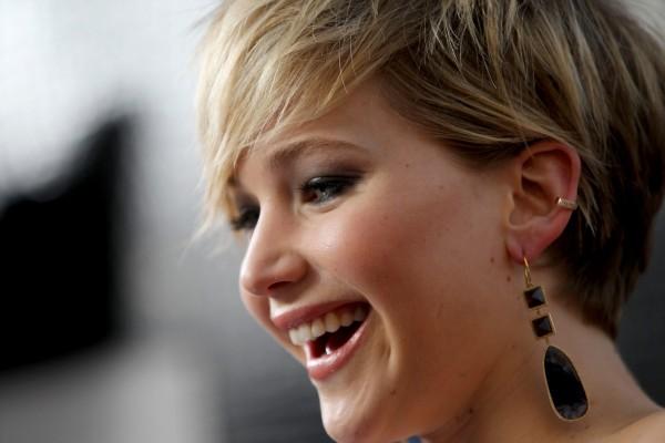 La guapa actriz Jennifer Lawrence