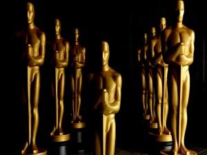 Postal: Estatuas premios Oscar 2014
