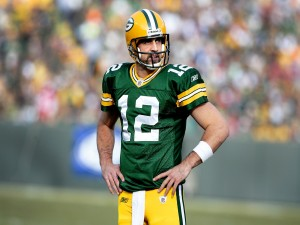 Postal: Aaron Rodgers, quarterback de los Green Bay Packers