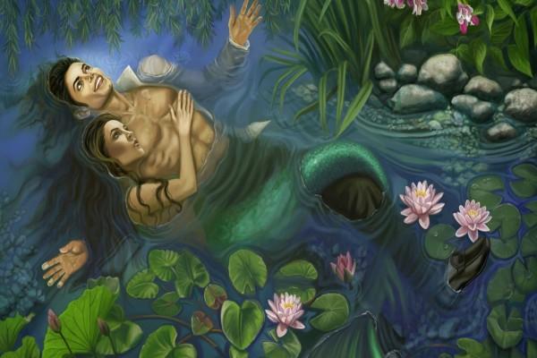 La sirena enamorada de un humano