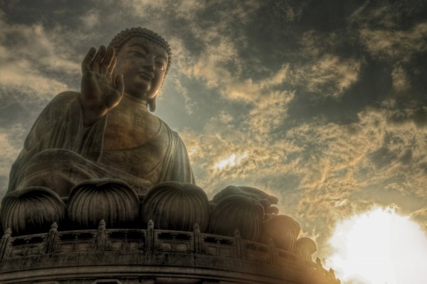 Un gran Buda