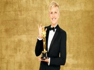 Postal: Ellen DeGeneres, presentadora de los Oscar 2014