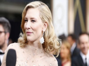 Postal: Cate Blanchett en los Oscar 2014