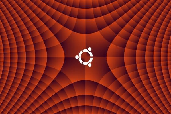 Logo de Ubuntu en color blanco