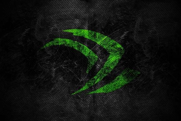Logo verde de nvidia