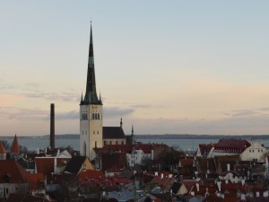 Postal: Tallin, capital de Estonia