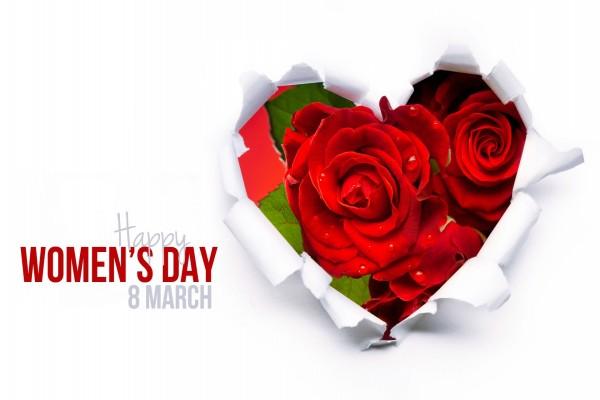 Feliz Día de la Mujer, 8 de Marzo