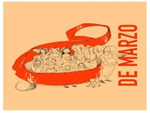 Postal: Mujeres el 8 de Marzo