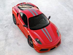 Postal: Vista aérea del Ferrari