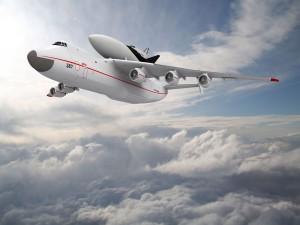 Postal: Volando por encima de las nubes