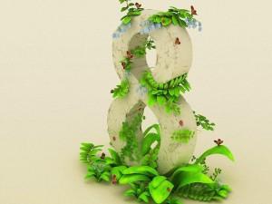 8 rodeado de naturaleza, en el Día Internacional de la Mujer