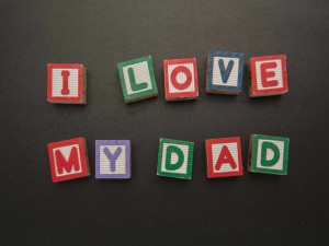 Postal: Día del Padre: I Love My Dad