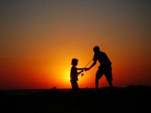 De pesca en el Día del Padre