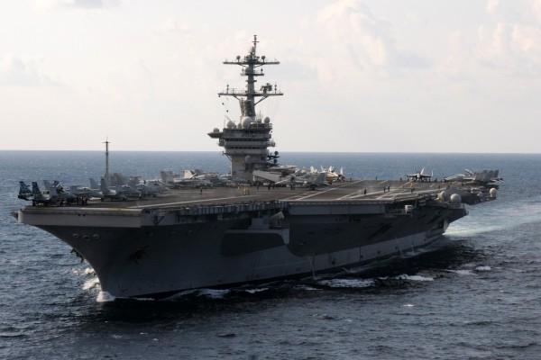 El portaaviones: USS Carl Vinson (CVN-70)