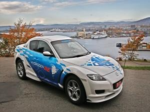 Postal: Mazda Hydrogen RE