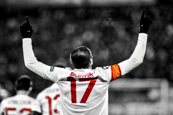 Burak Yılmaz, jugador del Galatasaray SK