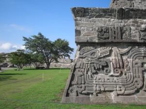 Postal: Templo de la Serpiente Emplumada, Xochicalco