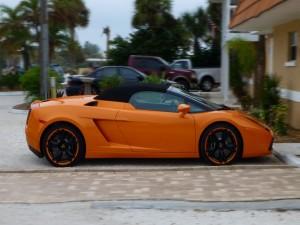 Lamborghini Gallardo, naranja