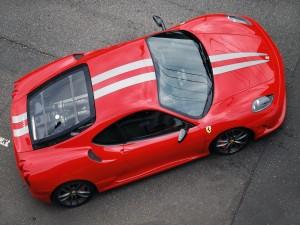 Postal: El techo de un Ferrari