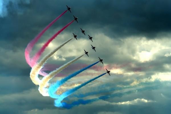 Aviones acrobáticos