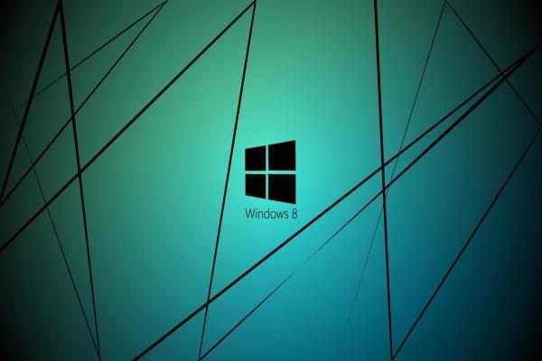 Windows 8 y líneas negras
