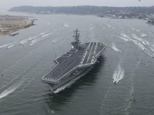 Postal: El portaaviones: USS Ronald Reagan (CVN-76)