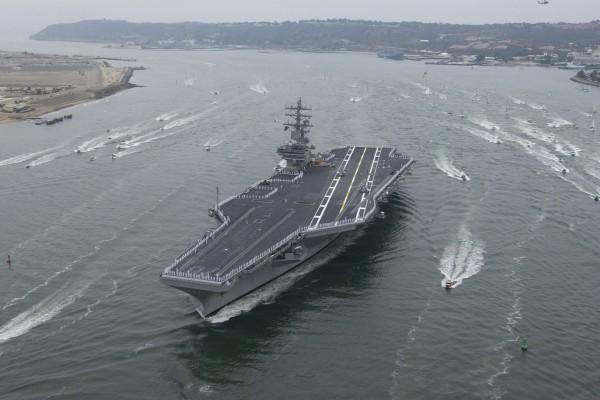 El portaaviones: USS Ronald Reagan (CVN-76)