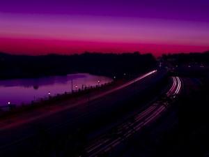 Postal: Bonitos colores en el cielo