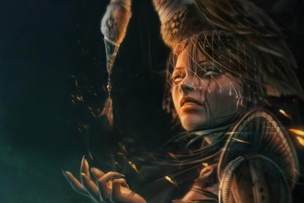 Una joven bruja