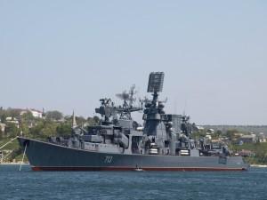 Postal: Flota del Mar Negro, de la armada Rusa