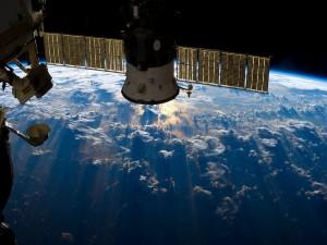 Postal: Estación Espacial Internacional (ISS)