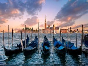 Góndolas en Venecia