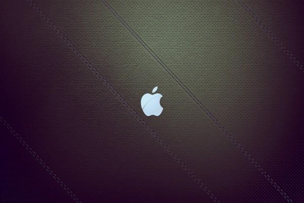 Apple de color blanco