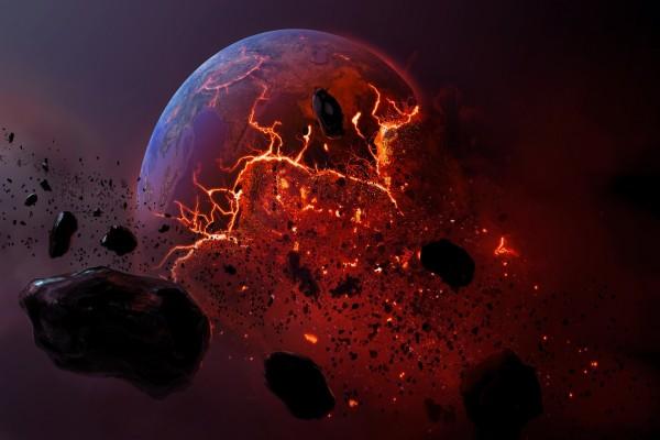 Explosión en el espacio