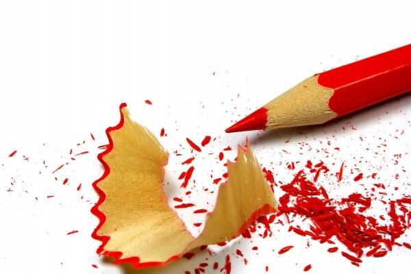 Lápiz rojo