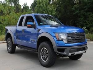 Ford F-150 azul