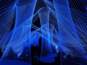 """Resonate"" en Luminale 2012 (Frankfurt, Alemania)"