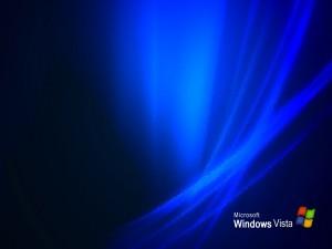 Microsoft Windows Vista con efecto