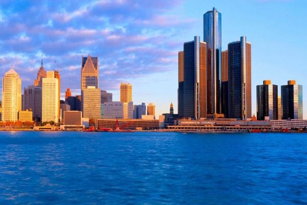 Edificios de Detroit