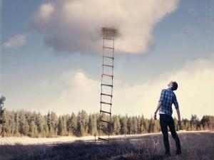 Escalera desde el cielo