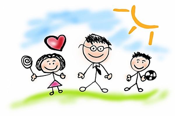 19 de Marzo, dibujo para papá