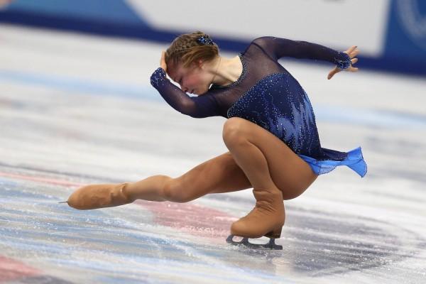 La distinguida patinadora Yúliya Lipnítskaya