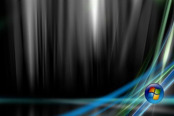 Windows con líneas de colores