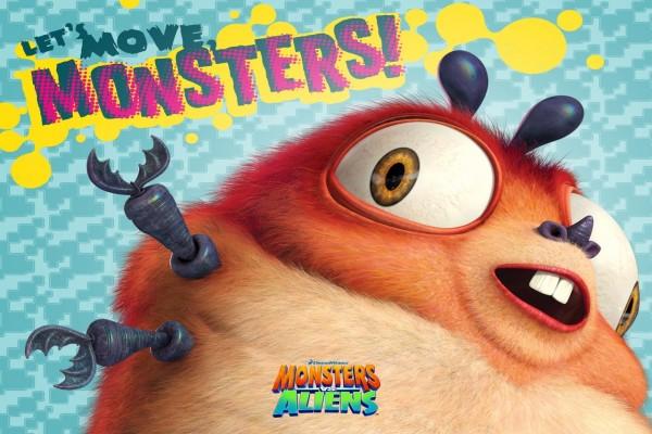 Monstruos contra Alienígenas 3D