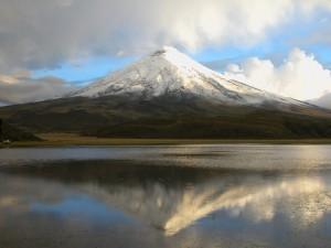 Postal: Volcán Cotopaxi (Ecuador)