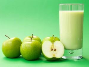 Postal: Bebida de manzana