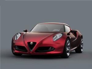 Postal: Alfa Romeo 4C